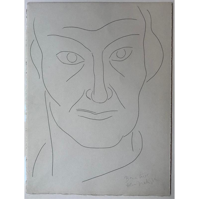 Portrait de Charles Baudelaire, 1932