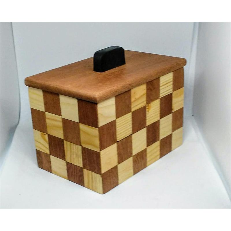 Box #45 Sapele Mahogany, Pine & Ebony , 2019