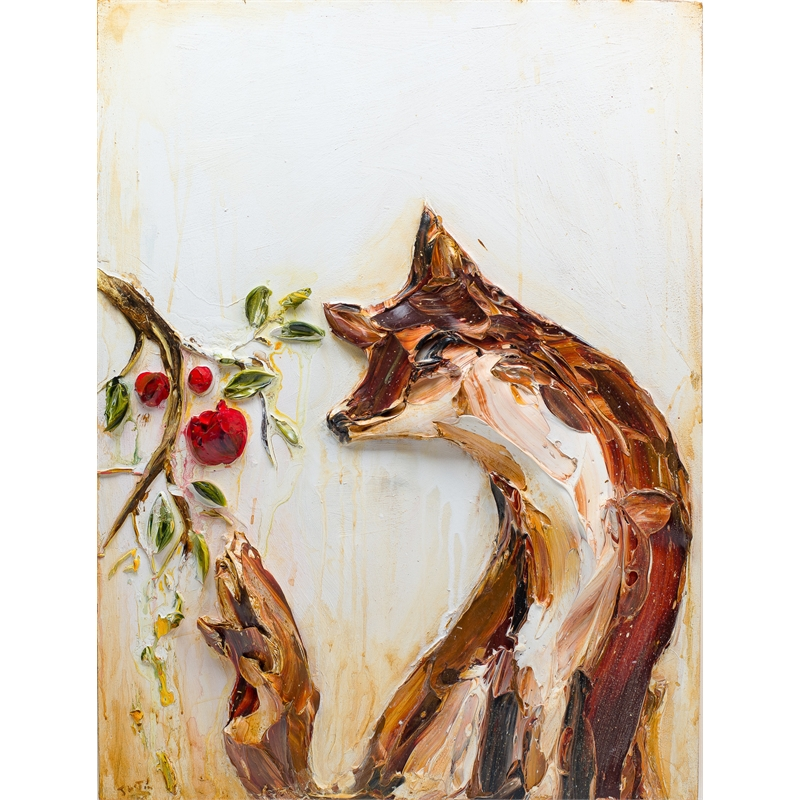FOX AND FLORALS