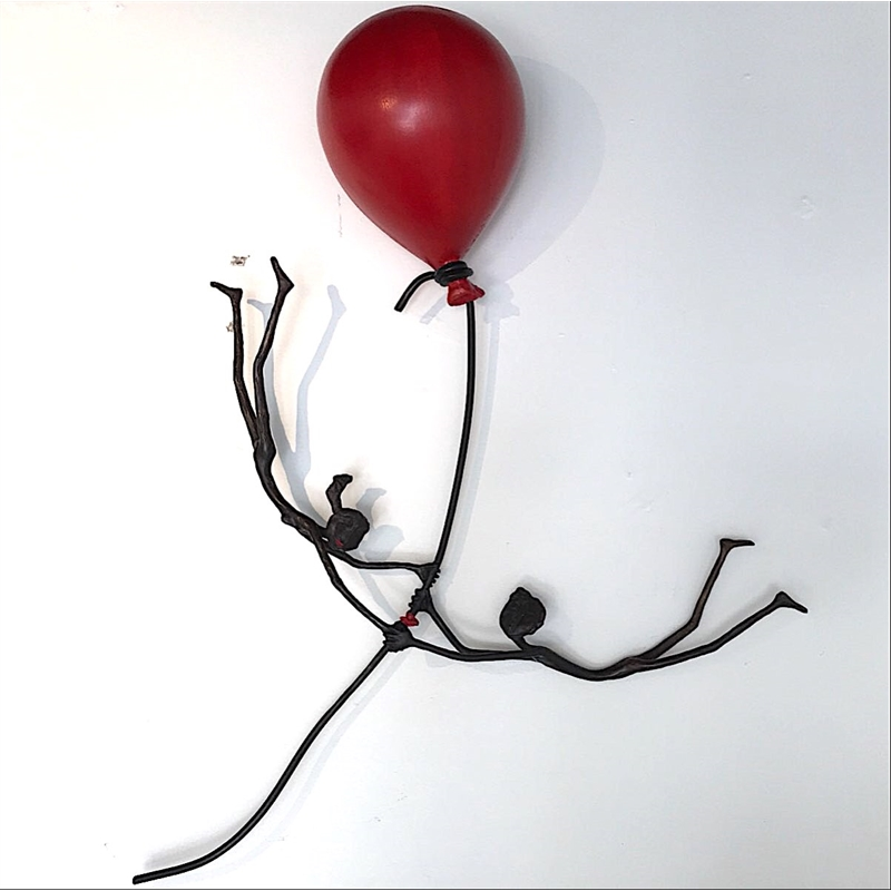 Red Balloon (Flower Couple)