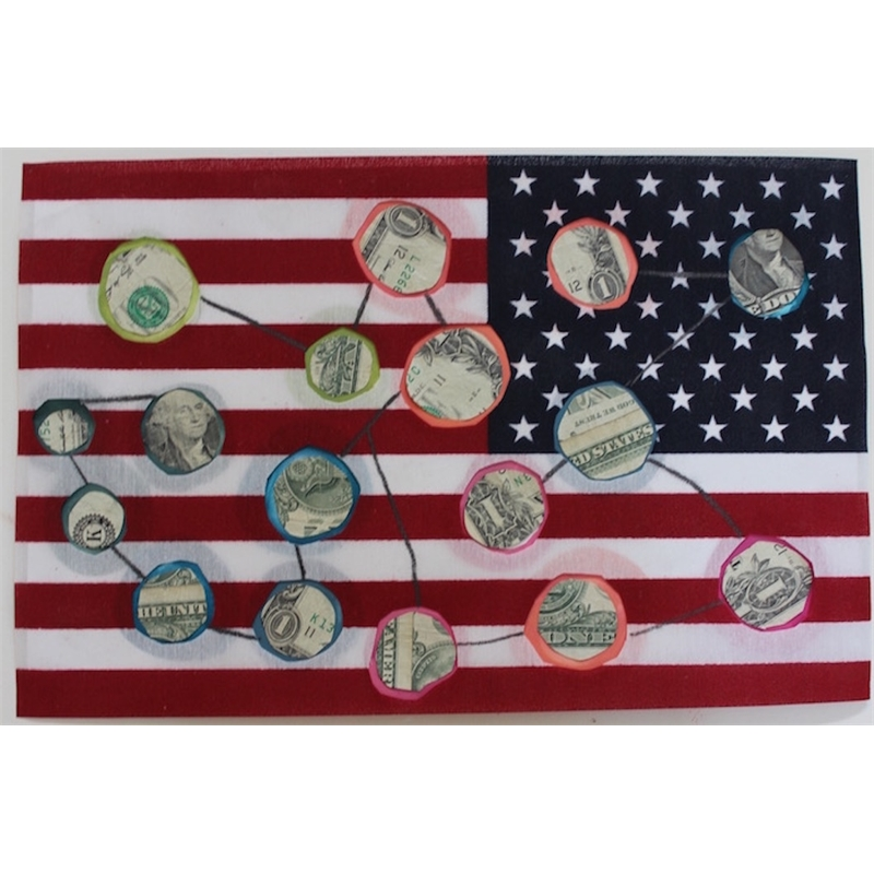 Deborah Mersky, Money Constellation Flag