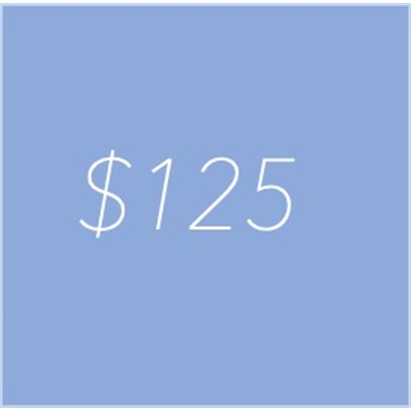 gift credit 125