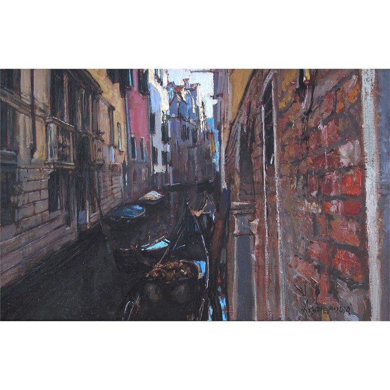 Quiet Neighborhood, Venice, 2014
