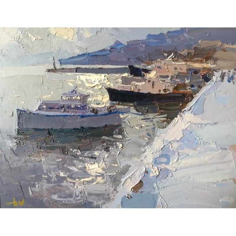 Snow in the Boat