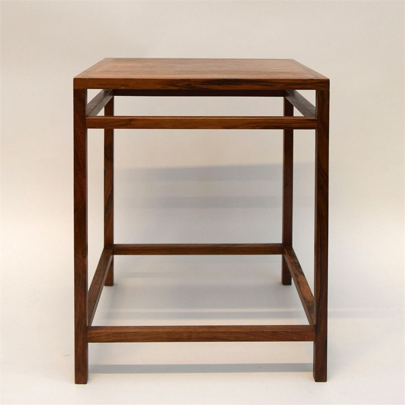 SMALL SIDE TABLE DESIGNED BY EJNER LARSEN & AKSEL BENDER MADSEN FOR WILLY BECK , Denmark, 1950s
