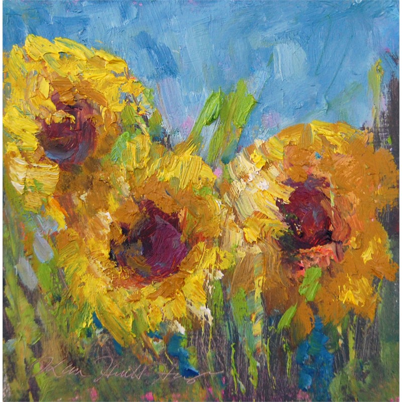 August Sunflowers II