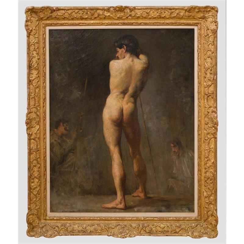 LE MODEL, French, circa 1900