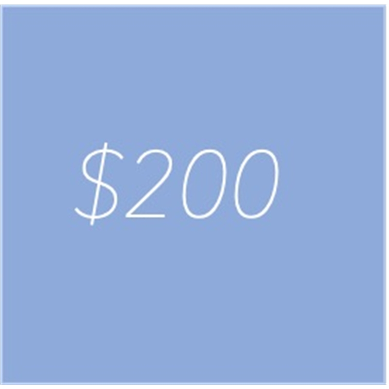 gift credit 200