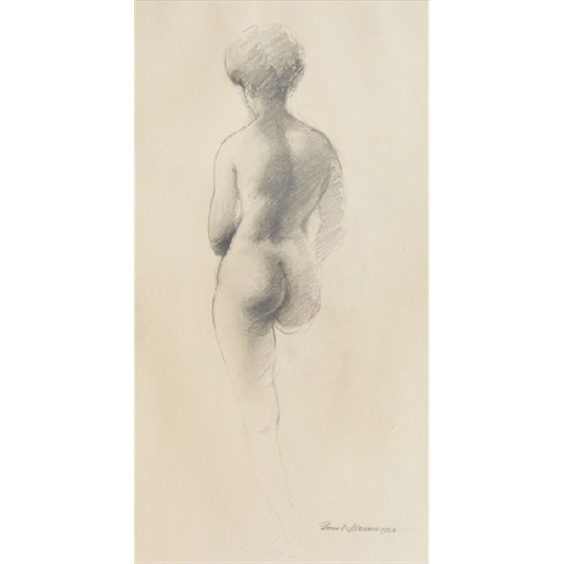 Back View Nude, 1960