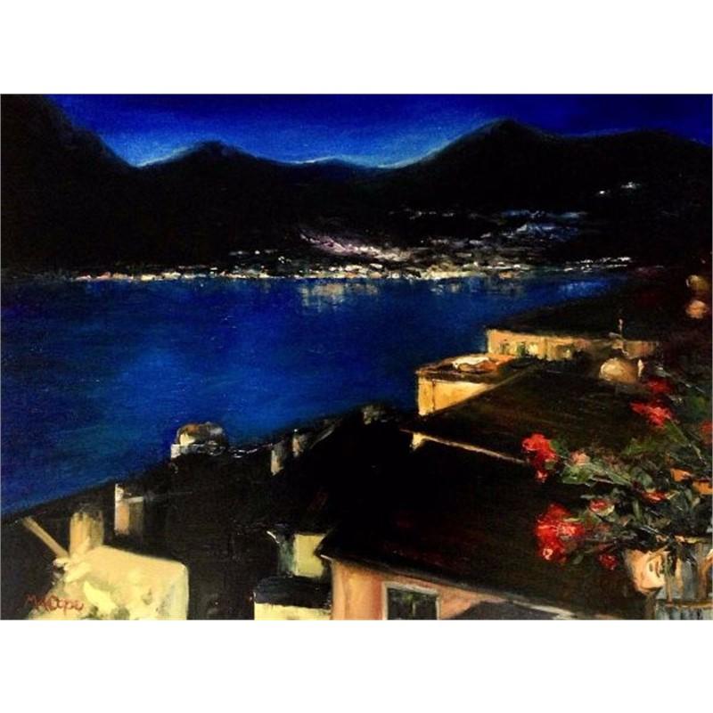 Vista Notturna sul Lago di Como