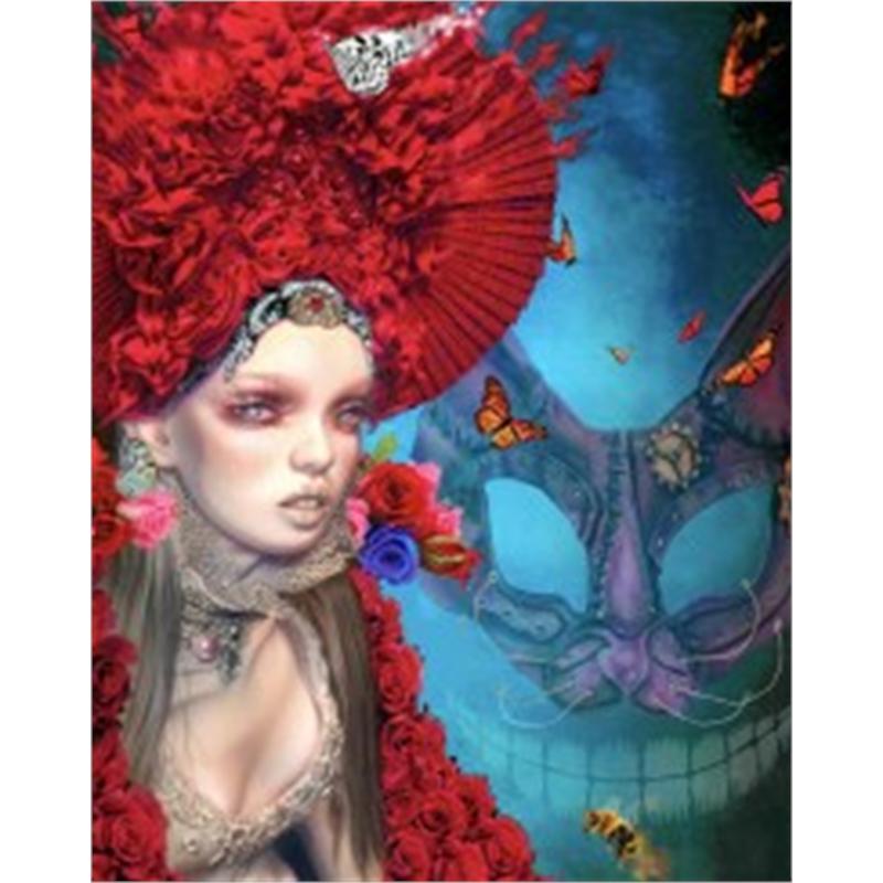 Alice - Wonderland Red Queen by Adam Scott Rote