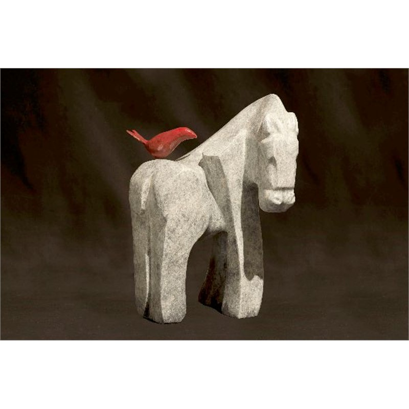She Rides a White Horse
