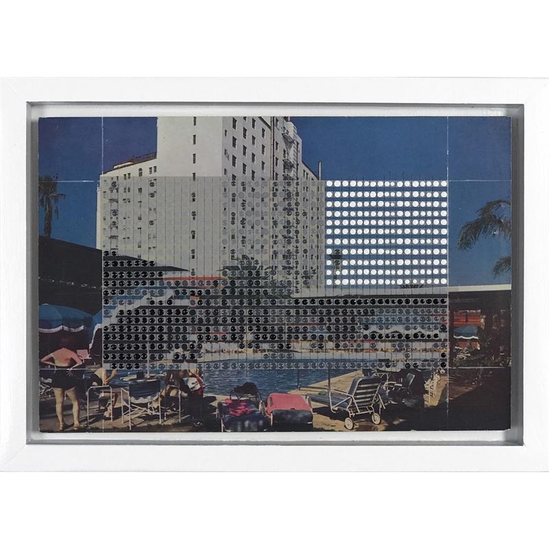 Borrowed Landscapes Study No.121 /California, Hollywood, Roosevelt Hotel and Promenade, 2017