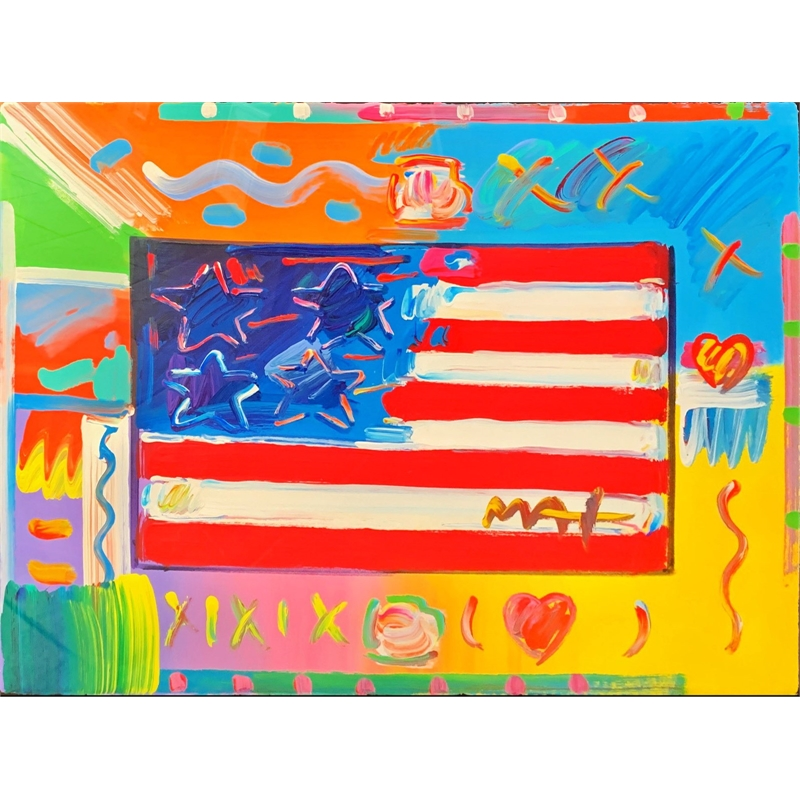 Flag with Heart, 2019