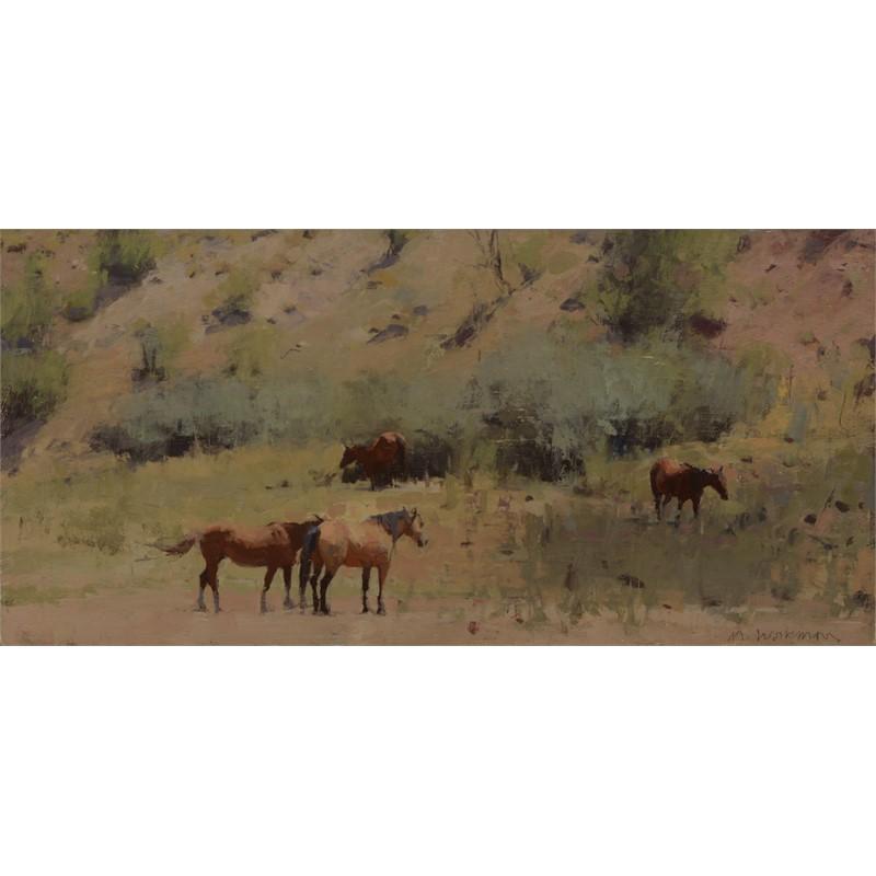 Four Summer Horses, 2019