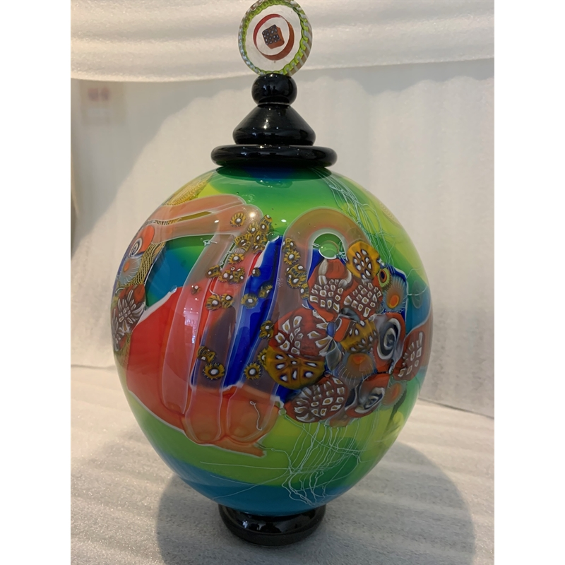 Colorfield Jar (Tall)