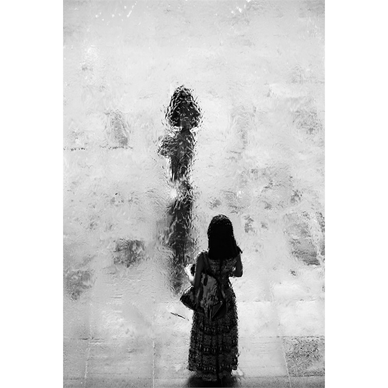 water wall portrait IX, 2017