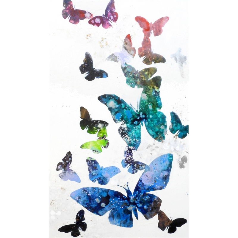 Les Papillons en Vol VIII, 2019