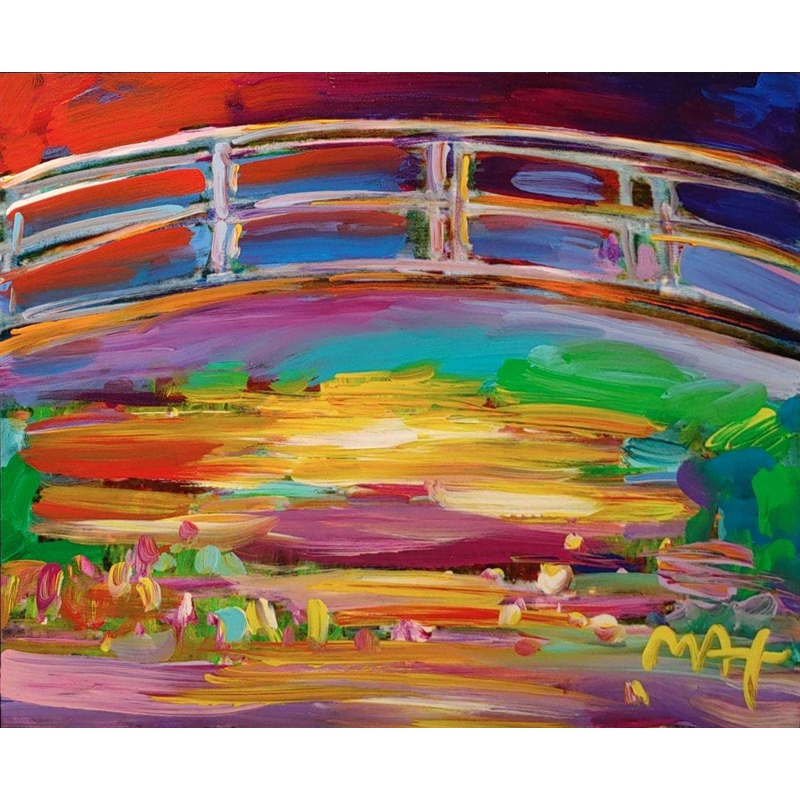 HOMAGE TO MONET: THE JAPANESE BRIDGE