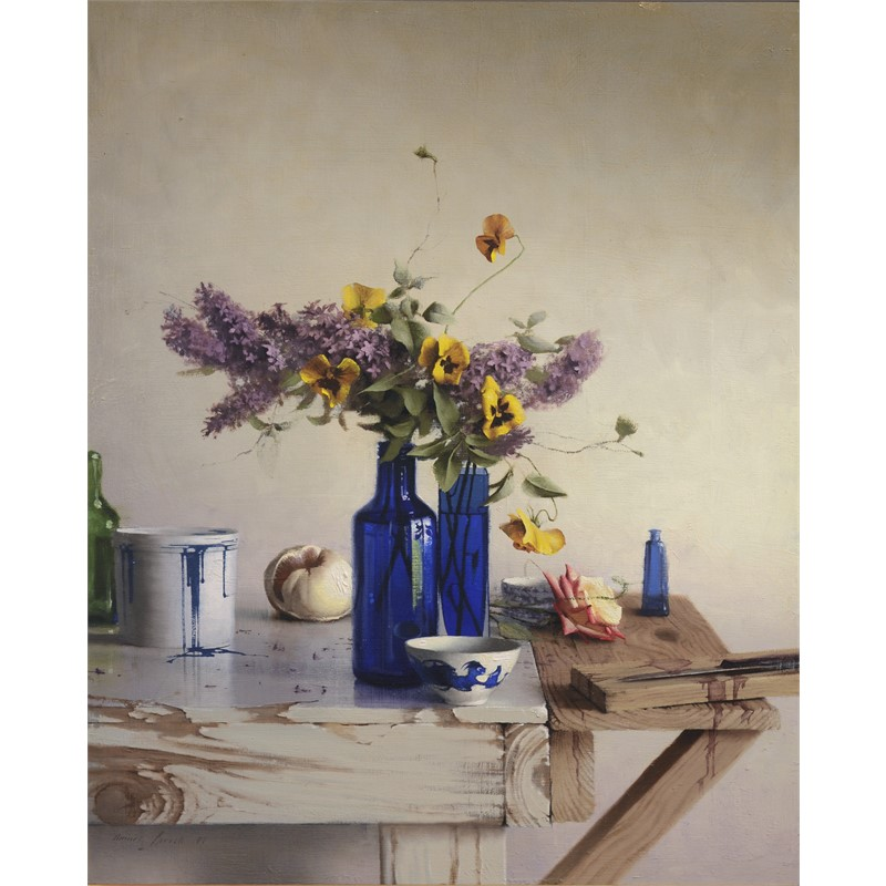 Lilacs and Pansies