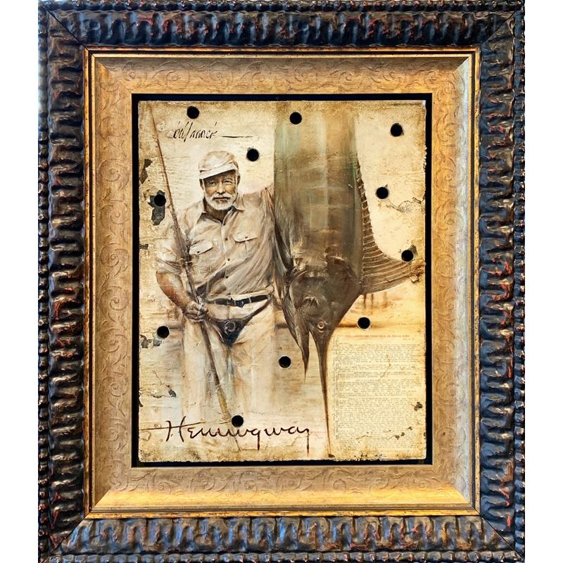 Hemingway with Fish, 2020