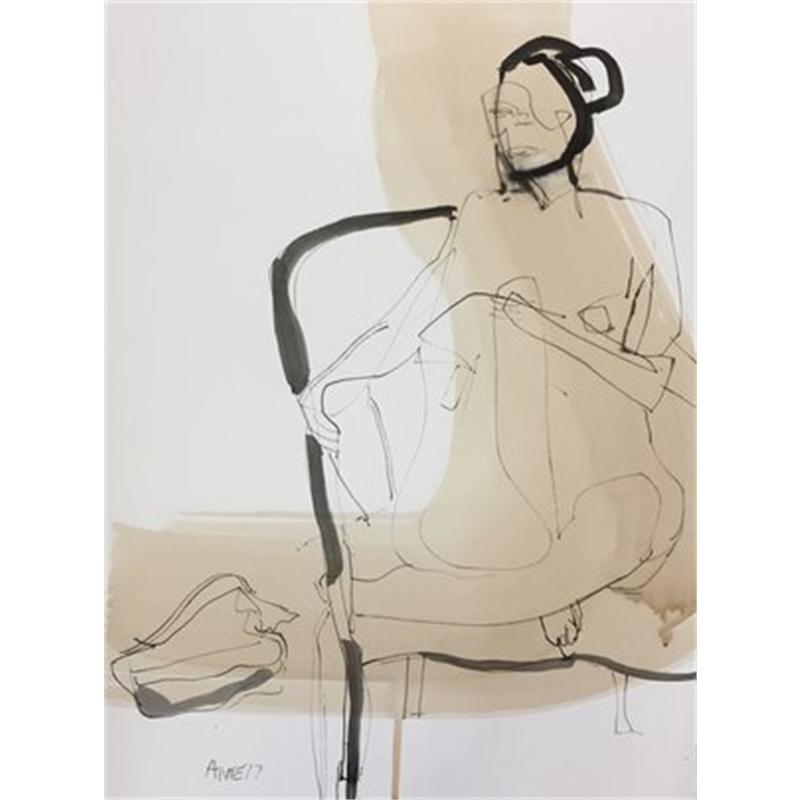 Figure Drawing #24, 2018