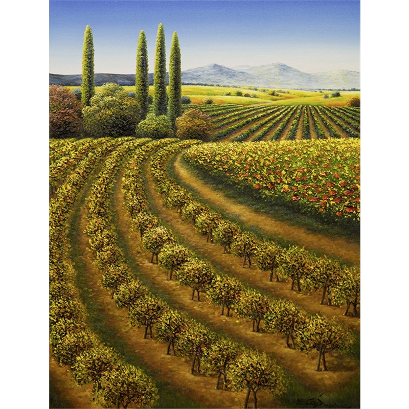 Turning Point of the Vines by Mario Jung