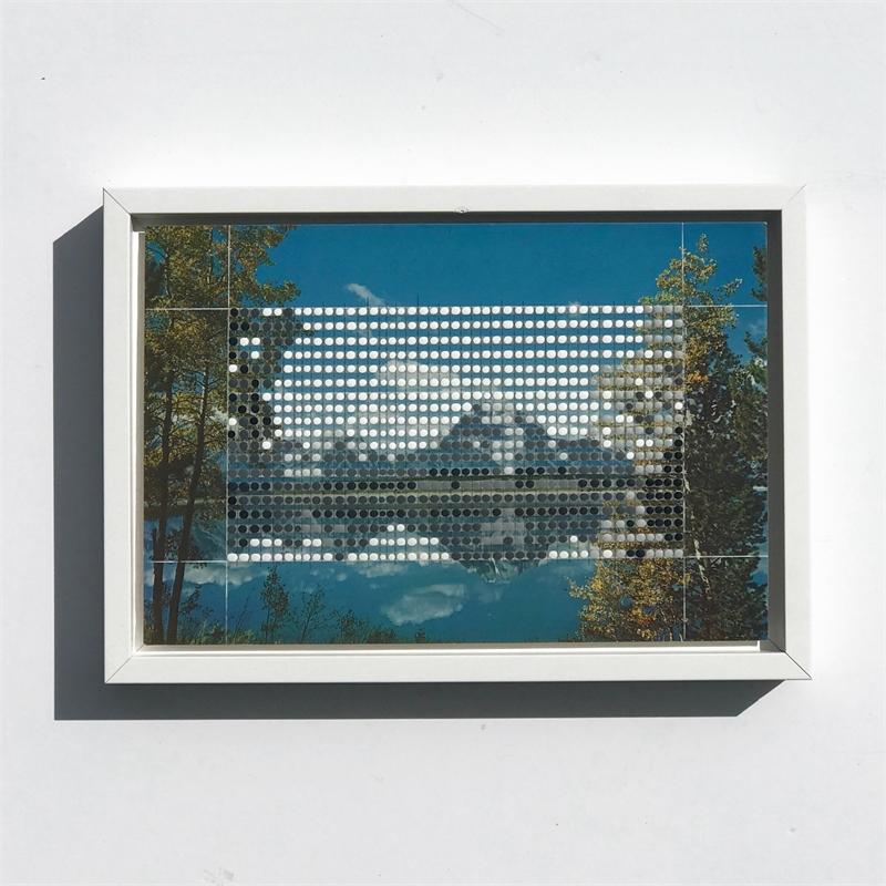 Borrowed Landscape Study No. 199/WY, Jackson Lake and Teton Range #2, 2019