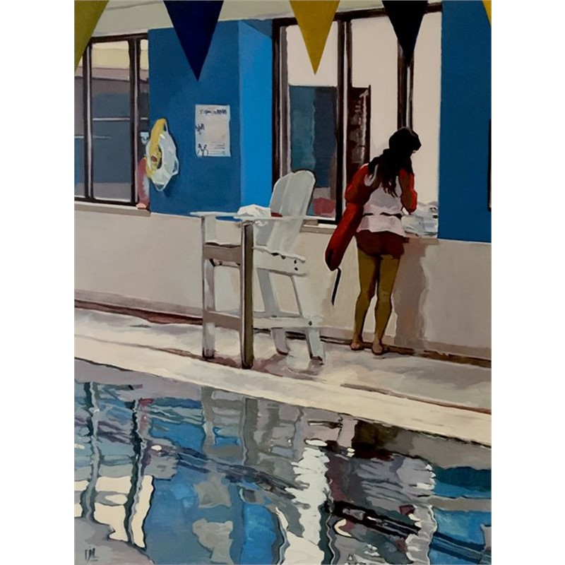 Swimming Inside in Winter, 2019