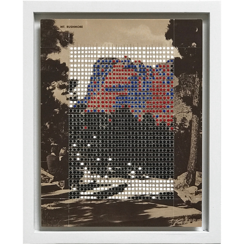 Borrowed Landscapes Study No.97/South Dakota, Mt. Rushmore, 2020