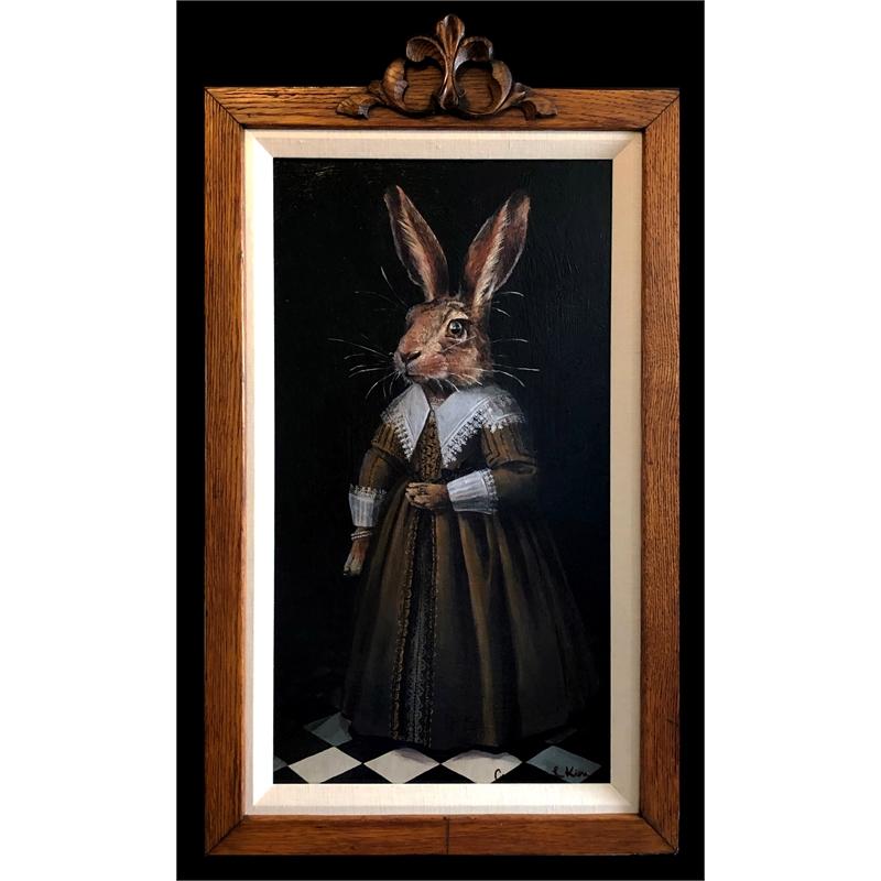 Portrait  of a Rabbit, 2019