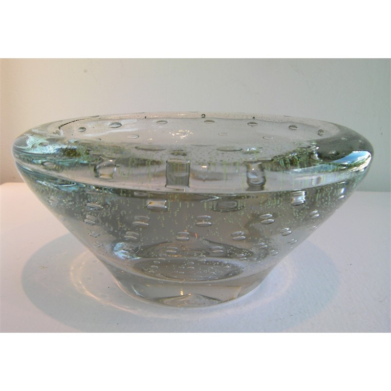 CVPL.08101 Luminescent Bowl with Champagne Bubbles