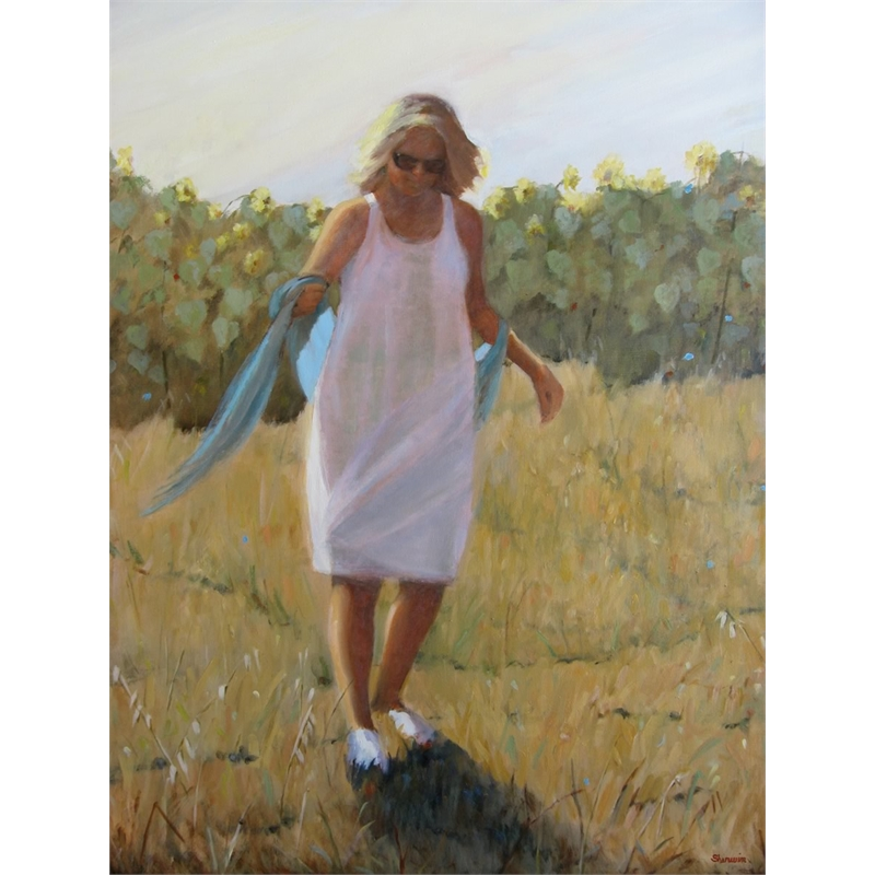 Woman in Provence