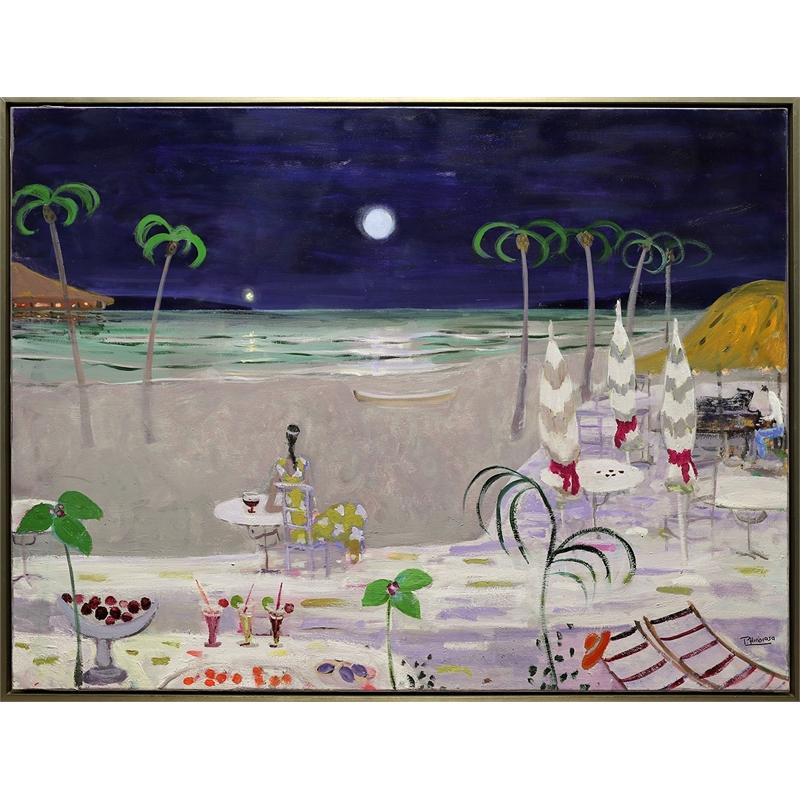 Night Beach by Paloma Hinojosa