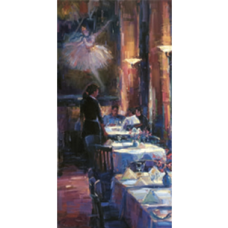 Lunch with Degas by Michael Flohr