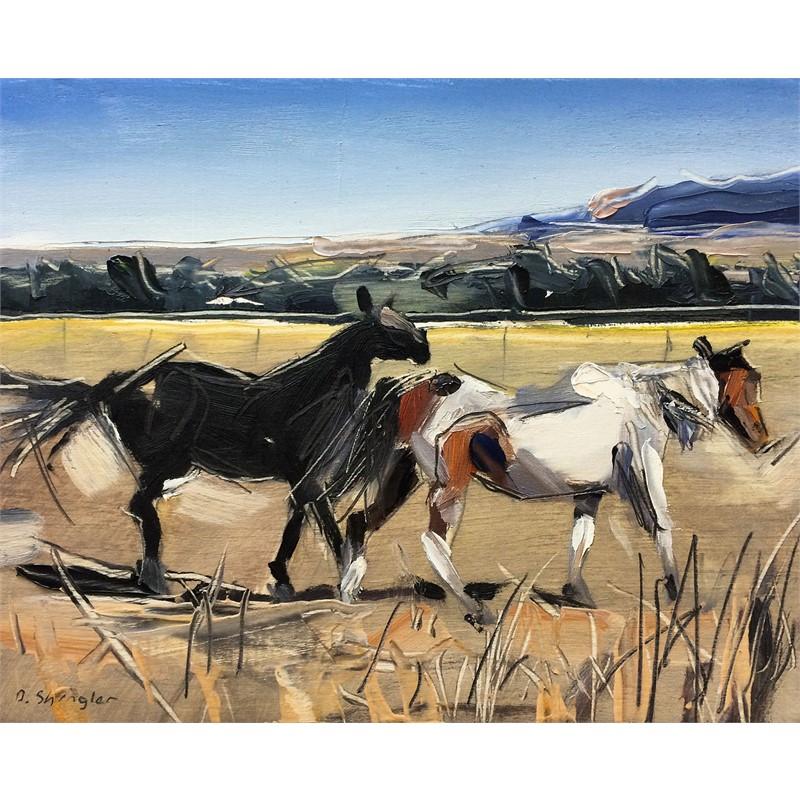 Pair of Horses, Montana
