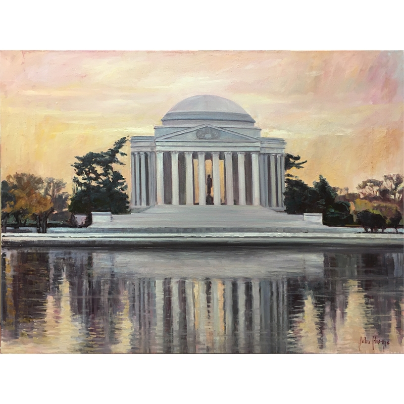 Jefferson Memorial Reflections