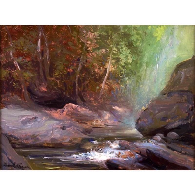 Great Rock, Moss Glen by Frank Mason