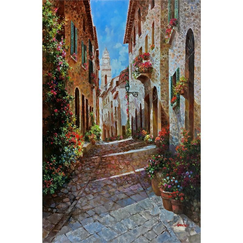 Street Scene of Tuscany
