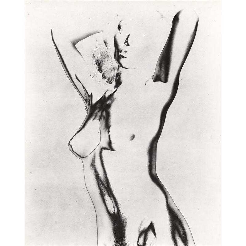 Untitled (Solarized Nude), c. 1940