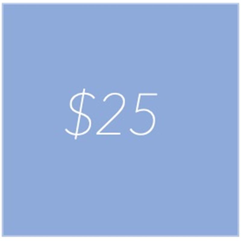 gift credit 25
