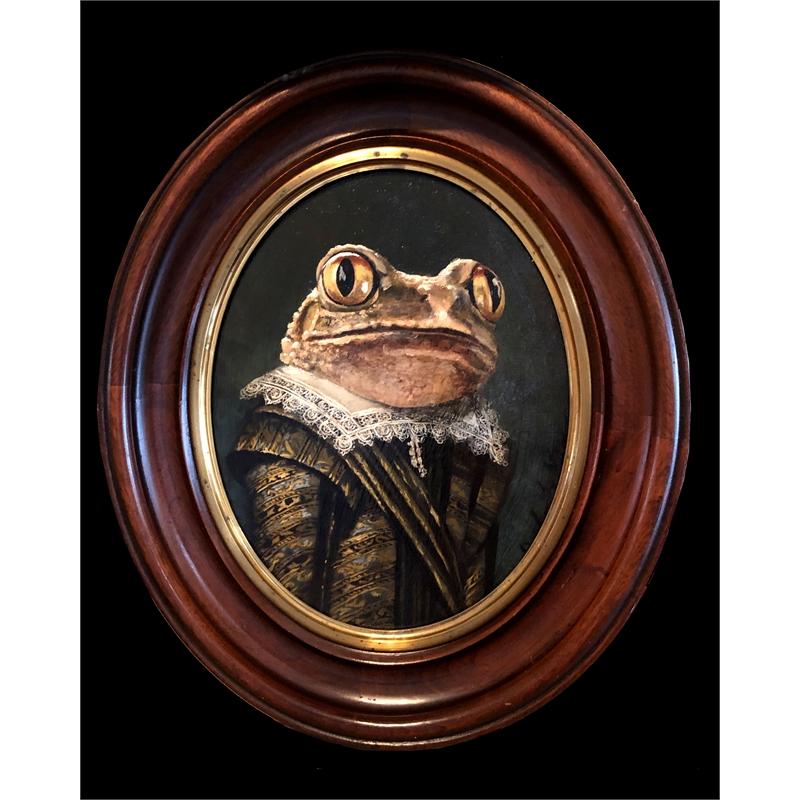 Portrait of a Gentle Tree Frog, 2019