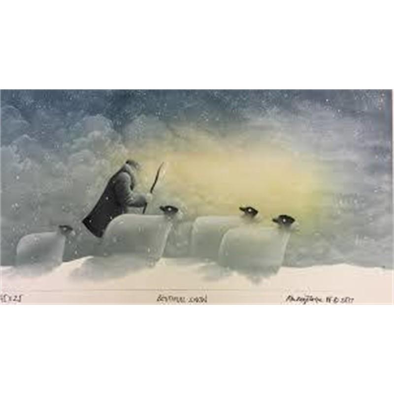 Beautiful Snow by Mackenzie Thorpe