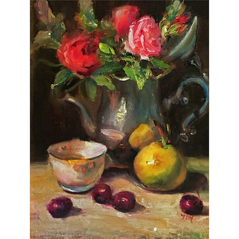 Roses & Cherries