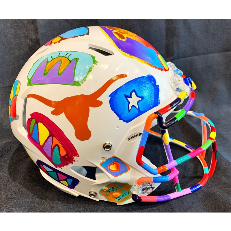 TEXAS LONGHORNS HELMET (LARGE), 2020