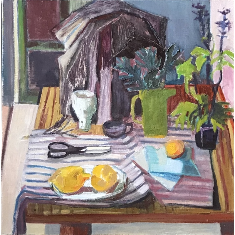 Still Life with Green Pitcher, 2020