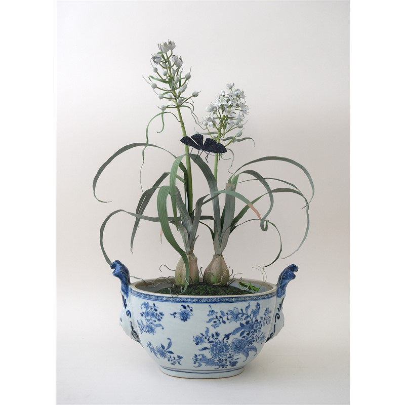 Double...for Blue and White pot, 2018