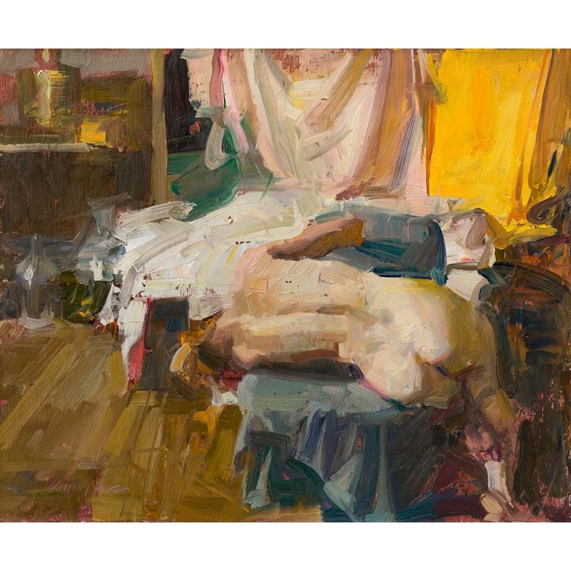 Sideways - Figure in Studio