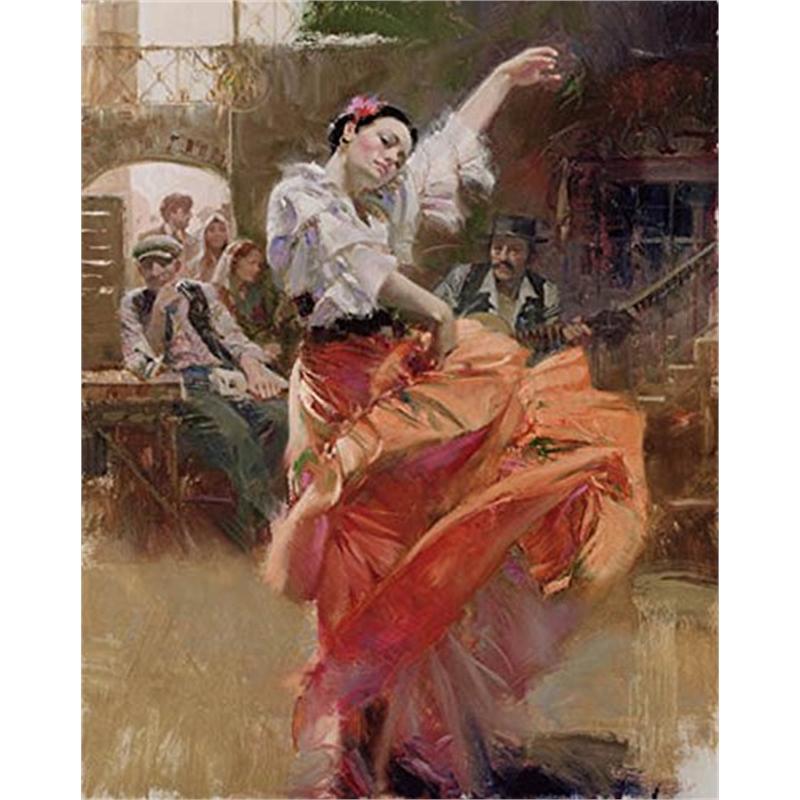 Flamenco in Red (152/195), 2018