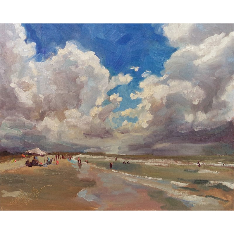 Salient Clouds at Kiawah Beach